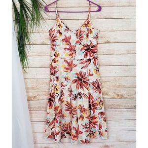 NY&Co Floral Sleeveless Sun Dress